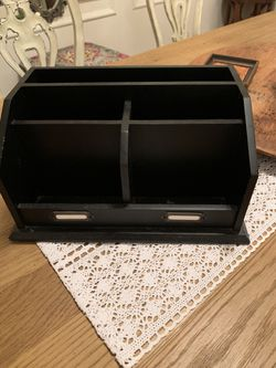 Black Desk Organizer for Sale in Weehawken,  NJ