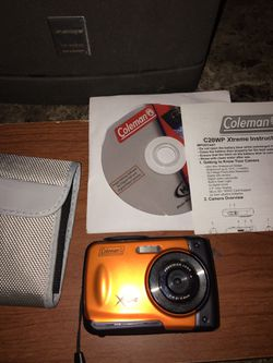 Coleman waterproof camera for Sale in Yakima,  WA