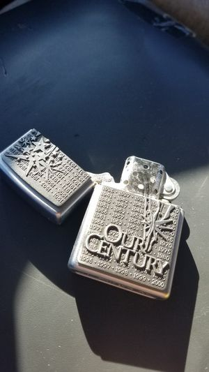 Our Century collector Zippo and collector tin for Sale in Bedford, TX