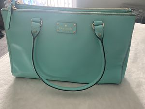 Kate spade mint tote bag for Sale in Long Beach, CA