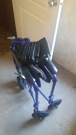 Transport wheelchair for Sale in Willow Spring, NC