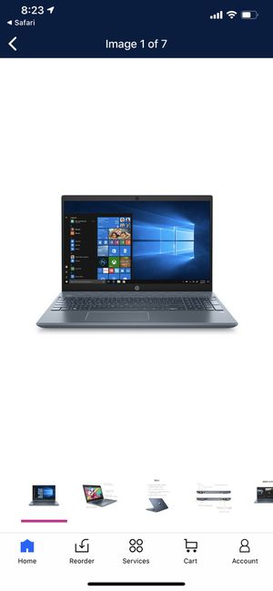 hp pavilion notebook 15.6 for Sale in FL, US
