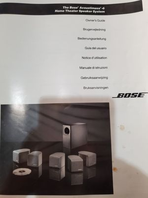 Bose Acoustimass 6 surround system home theater for Sale in Redondo Beach, CA