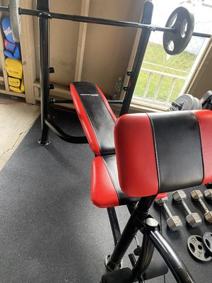 Bench press with weights for Sale in King City, OR