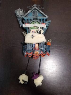 Nightmare Before Christmas Cuckoo Clock by Bradford Exhange for Sale in San Jose, CA