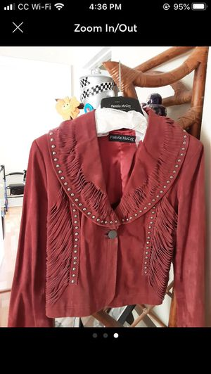 Pamela McCoy Suede jacket for Sale in Longwood, FL