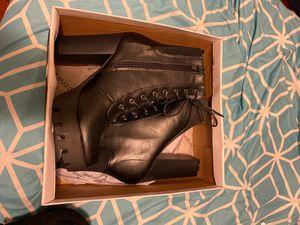 Stylish shin high lace boots for Sale in Washington, DC