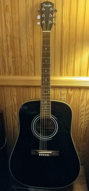 Fender acoustic 6 string guitar model DG-99 in black with gig bag case for Sale in Middletown, NJ