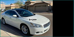Price$1200 Nissan Maxima O9 for Sale in Sioux City, IA