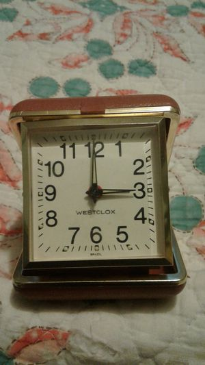 Vintage WESTCLOX Travel alarm clock for Sale in Johnstown, PA