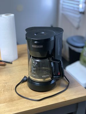 Black and decker coffee maker for Sale in Frisco, TX