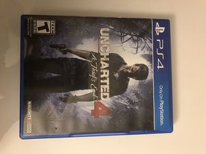 PS4 Uncharted 4 for Sale in Miami, FL