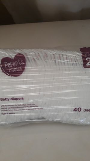Diapers size 2 for Sale in Riverside, CA