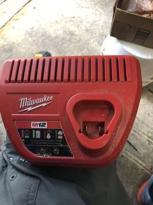 Milwaukee m12 charger for Sale in St. Petersburg, FL