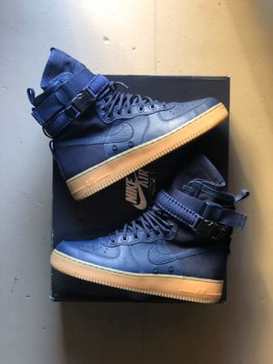 "Nike SF AF1 ""Midnight Navy"" size 9 $75 for Sale in Huntington Park, CA"