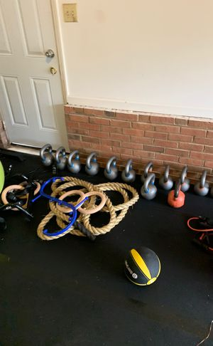 Kettle bells for sale. Like new. for Sale in Raleigh, NC