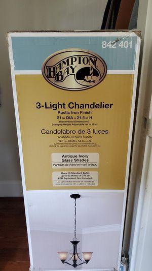 3-Light chandelier for Sale in Martinez, CA
