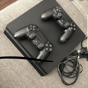 Used PS4 with 2 controllers and God Of War game for Sale in Elmhurst, IL