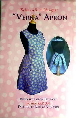 """""""Vernal """" Apron Pattern RRD 304 for Sale in Lacey, WA"""