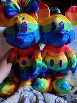 Disney Minnie & Mickey Mouse Pride Month Plushes for Sale in Fresno, CA