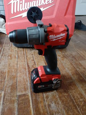 Milwaukee m18 fuel hammer drill with xc 5.0 battery for Sale in Lansing, KS
