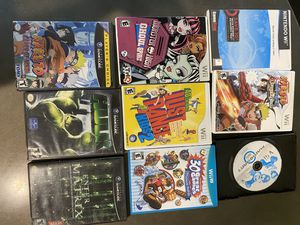 Nintendo Video Games Wii Wii U GameCube for Sale in Richmond, TX