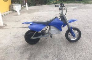 I'm selling my son brand new RAZOR dirt bike the price was originally 414 from toys r us . The price is 350 negotiable hit me serious inquires ONLY for Sale in Baltimore, MD