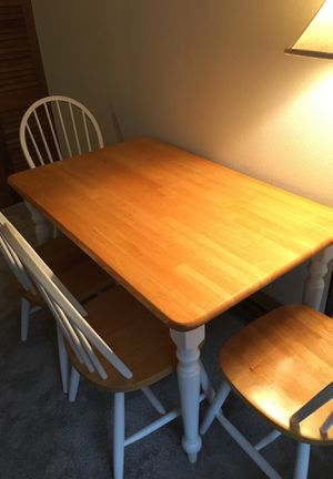 Wooden kitchen table for Sale in Seattle, WA