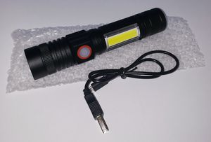 Rechargeable Flashlight with Magnetic Base & COB, LED Tactical Flashlight w. 4 modes for Sale in Seminole, FL