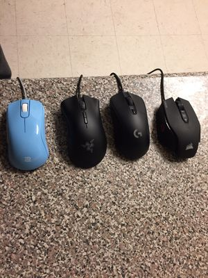 Computer Gaming mice. for Sale in Madera, CA