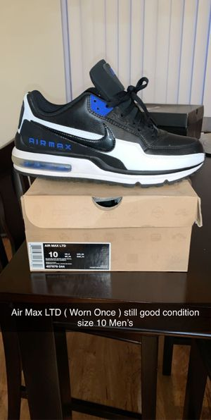 Air Max LTD Men's 10 for Sale in Thornton, CO
