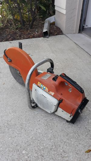 Stihl concrete saw NOT RUN FIRST COME FIRST SEVRE for Sale in Bradenton, FL