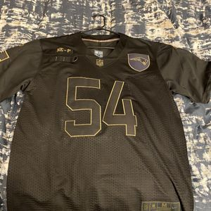 Patriots Jersey, Salute to Service, #54 Tedy Bruschi (M) for Sale in Dartmouth, MA