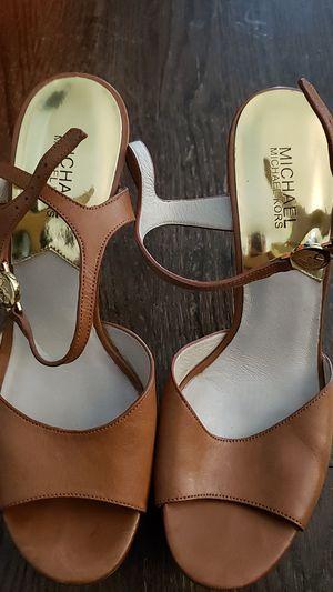 Michael Kors sz 10 strappy platform heels for Sale in Munster, IN
