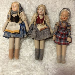 Antique 1920/30's Poland Dolls for Sale in Del Valle, TX