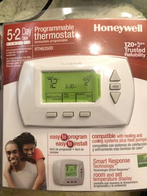 Programmable thermostat for Sale in Irving, TX