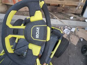 Ryobi ride on lawn mower for Sale in Los Angeles, CA