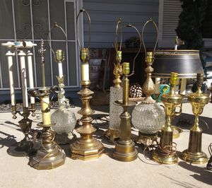 Vintage Lamps for Sale in Sacramento, CA