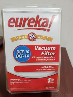 Eureka DCF-10 / DCF-14 vacuum cleaner replacement HEPA filter 62731B NEW SEALED for Sale in Federal Way,  WA