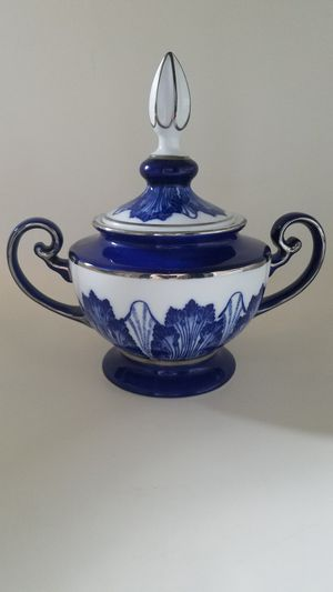 Bombay Made in China antique dish with spire for Sale in Phoenix, AZ