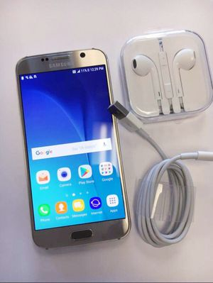 """Samsung Galaxy S6 32GB ,,Factory UNLOCKED Excellent CONDITION """"as like nEW"""" for Sale in Springfield, VA"""