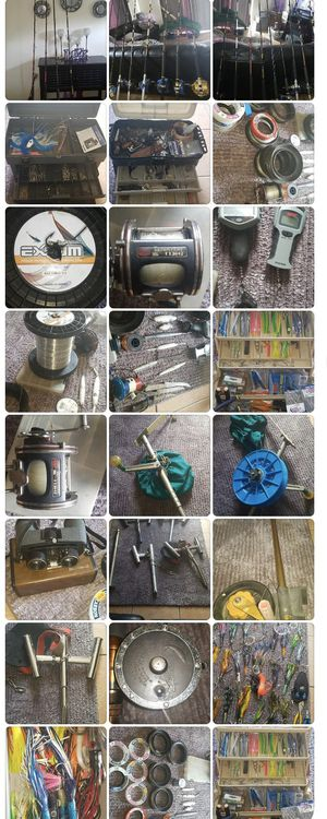 Fishing supplies and poles for Sale in Greenacres, FL