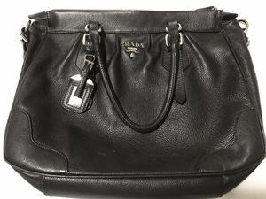 Beautiful dark chocolate brown Prada bag! for Sale in Huntersville, NC