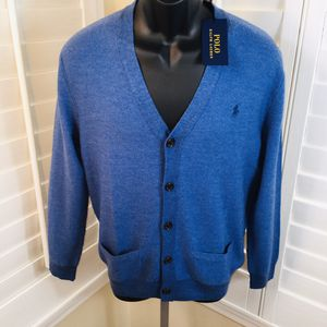 Polo Ralph Lauren Wool, Silk, Cashmere Cardigan Sweater - Men's Small - Brand New w/Tags $198 for Sale in Glendale, AZ