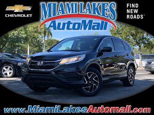 2016 Honda CR-V for Sale in Miami Gardens, FL