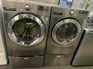 washer and dryer LG for Sale in Long Beach, CA