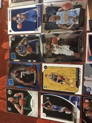 Rookie basketball cards lot for Sale in Fontana, CA