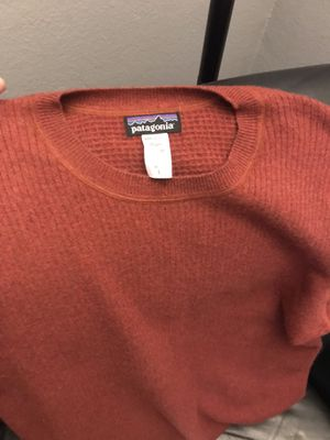 Patagonia Men's large 100% cashmere sweater like new for Sale in Huntington Beach, CA