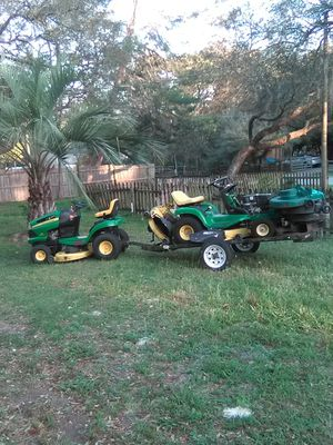 "John Deere 42"" Lawn Tractor for Sale in Eustis, FL"