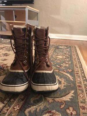 women's sorel leather boots size 10 for Sale in Denver, CO